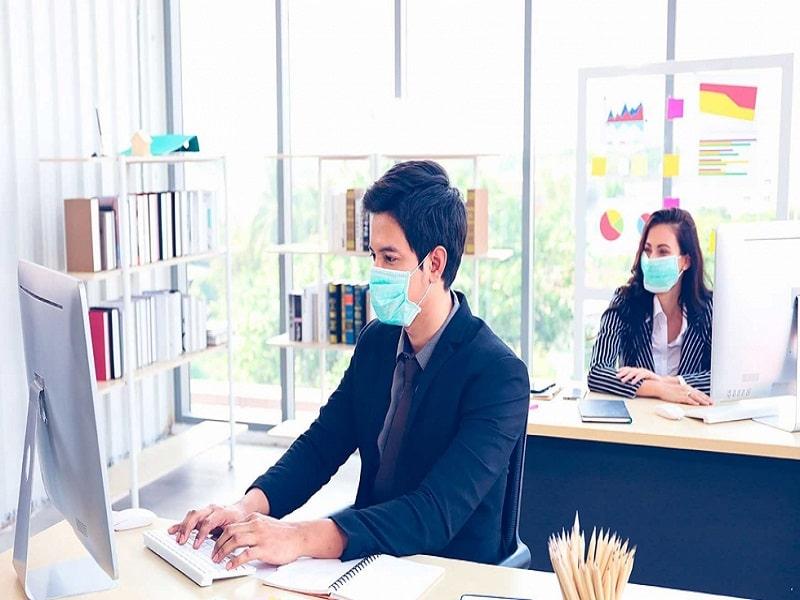 Las oficinas en plena pandemia